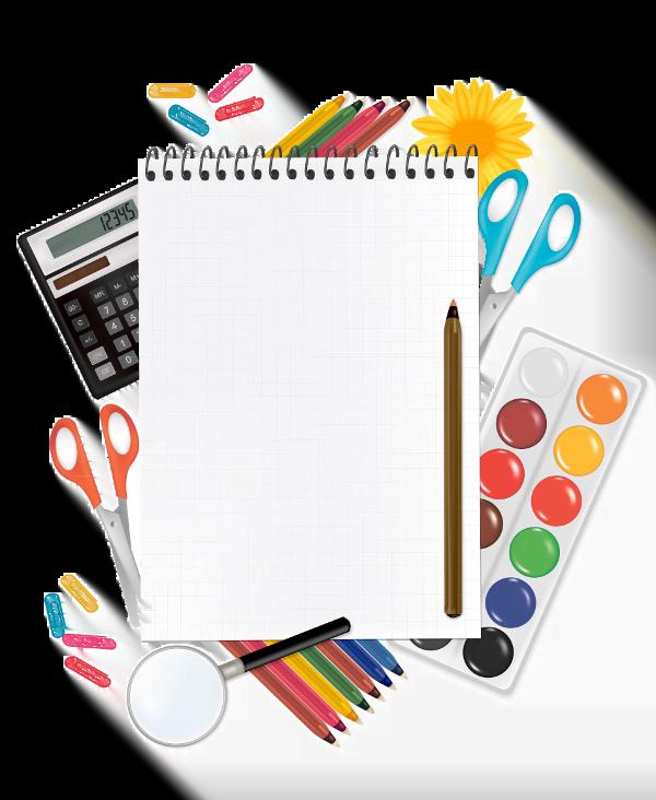 כלי כתיבה ומחברת